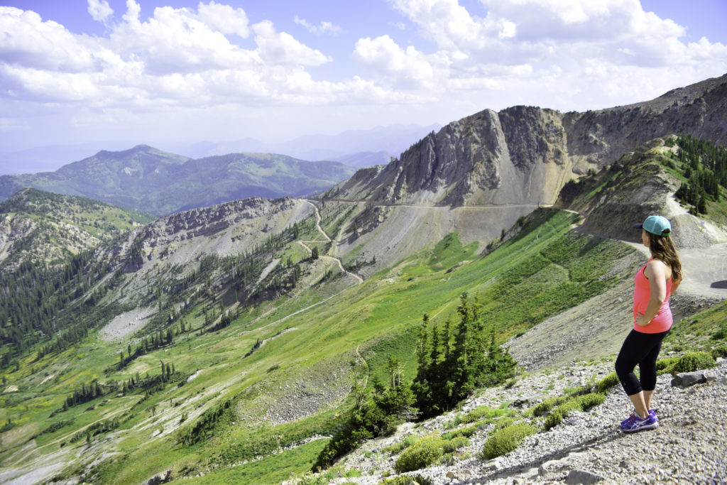 Hiking Hidden Peak Snowbird Utah