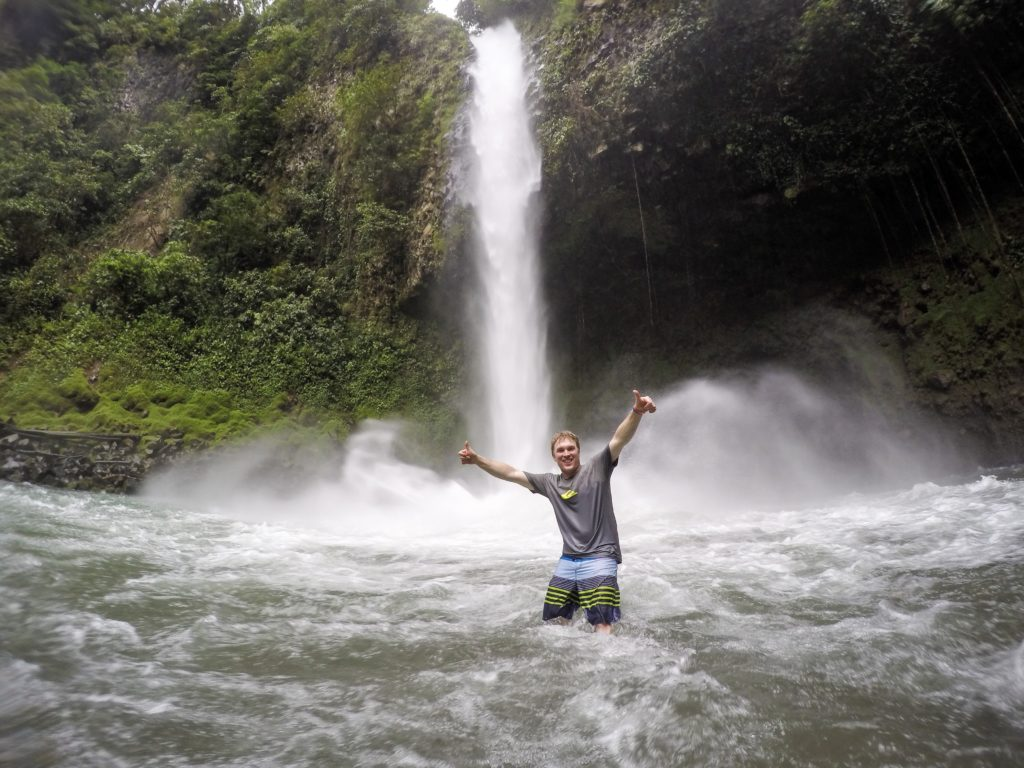 La Fortuna Falls in Arenal, Costa Rica