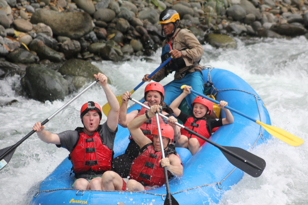 White water rafting Savegre River, Costa Rica
