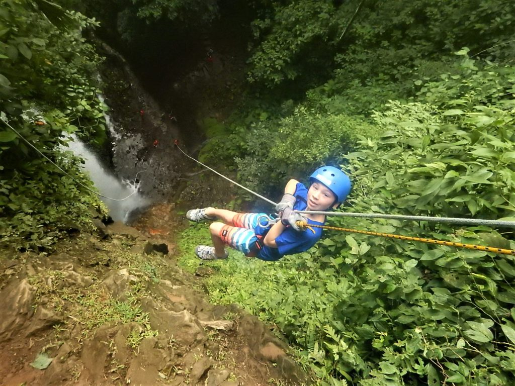 Pure Trek canyoneering in Arenal, Costa Rica