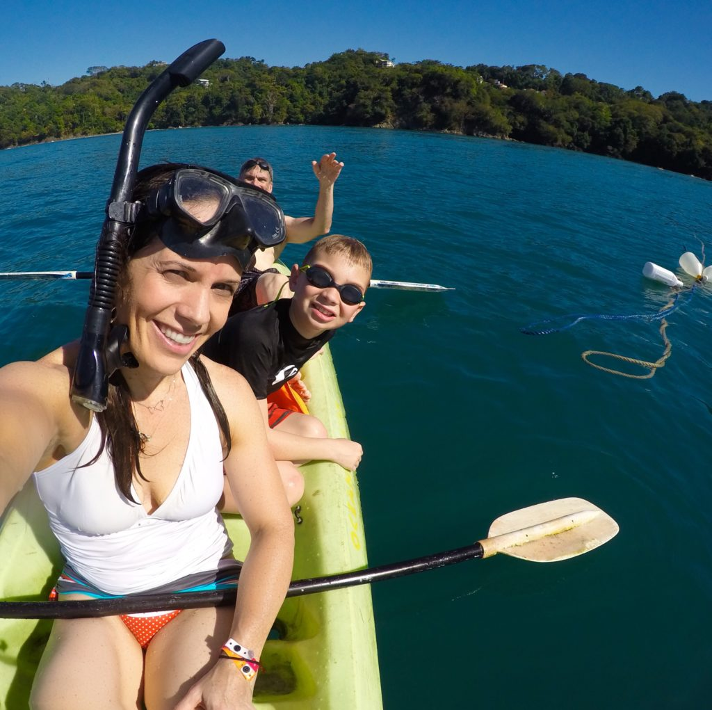 Kayaking at Playa Biesanz in Manuel Antonio, Costa Rica
