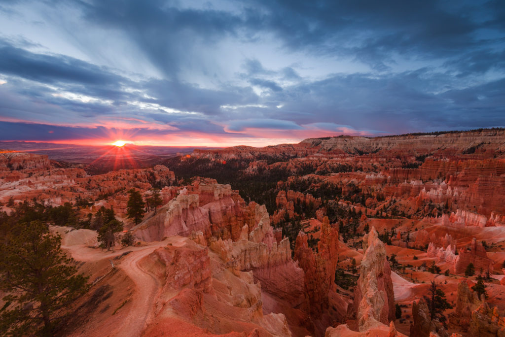 Sunrise over Bryce Canyon