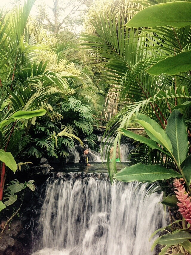 Tabacon Hot Springs in Arenal,Costa Rica