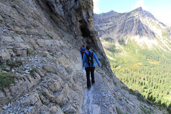 Crypt Lake Trail, Waterton, Alberta Canada
