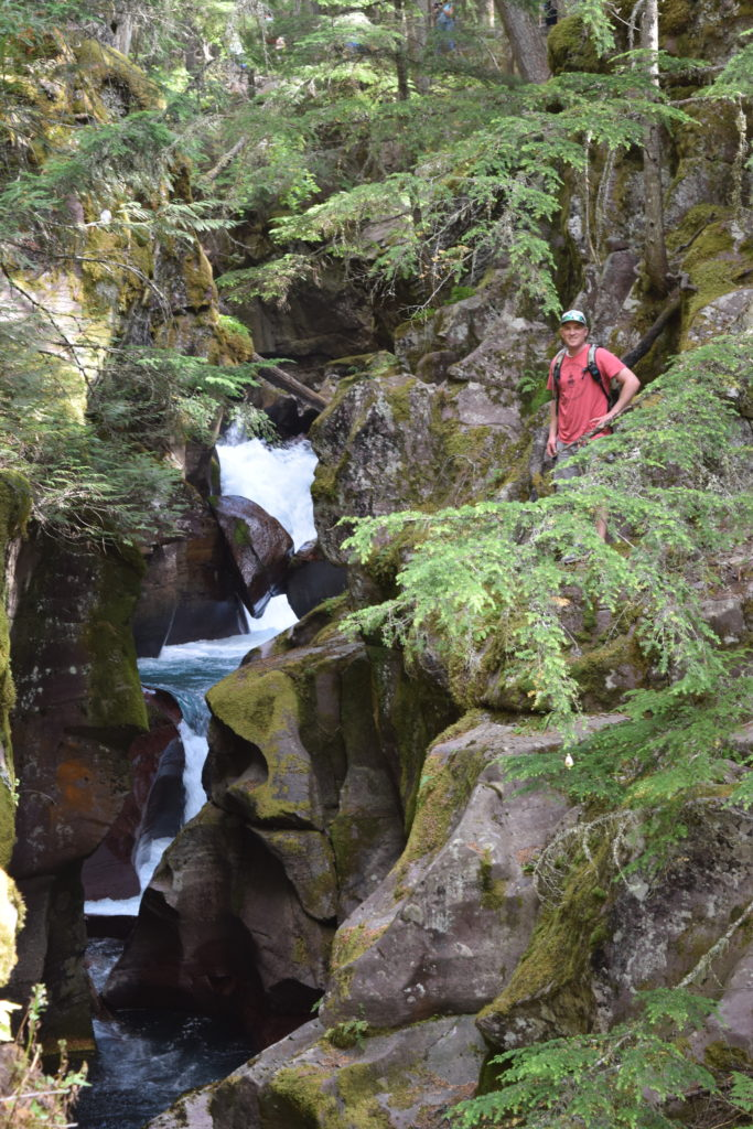 Trail of the Cedars, Avalanche Gorge, Glacier National Park MT