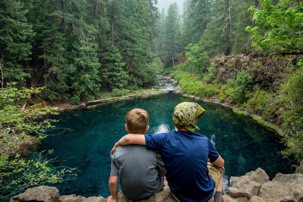 Tamolitch Blue Pool, Oregon