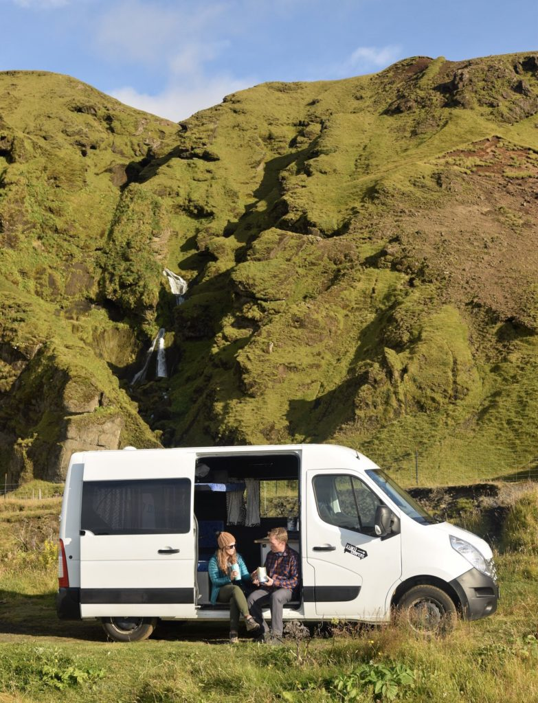 Camping off the Ring Road in South Iceland with Kuku Campers in Iceland
