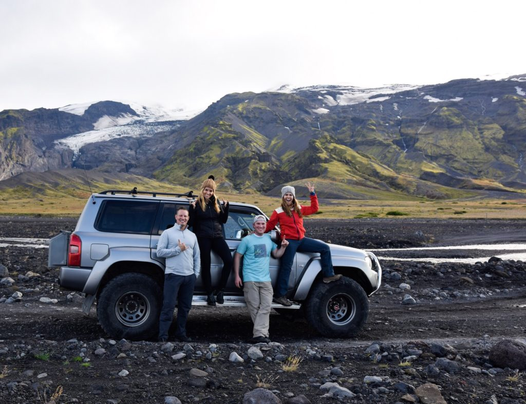 Super Jeep tour with Discover Iceland in Thorsmork