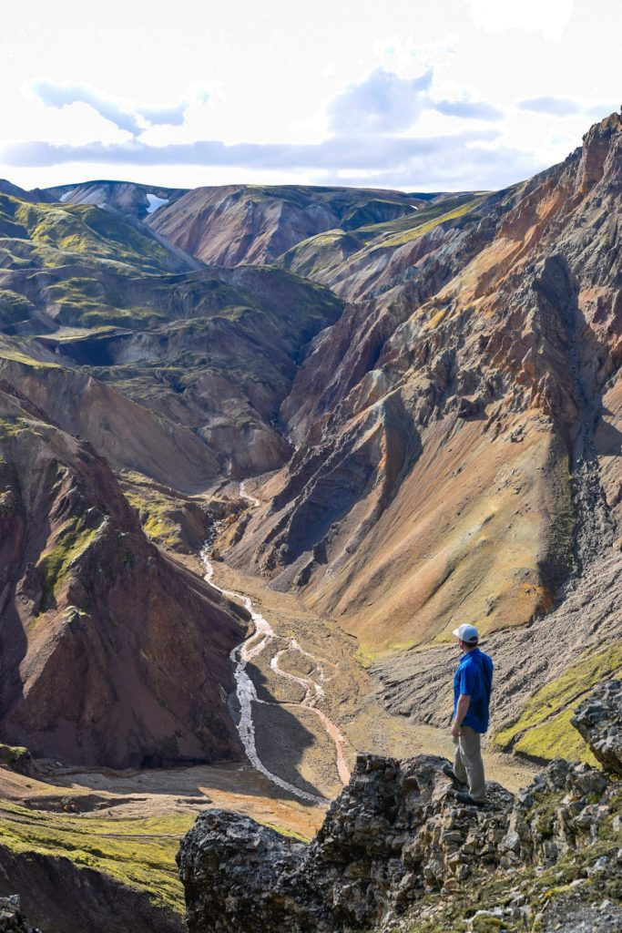 The painted mountains of Landmannalaugar, Iceland